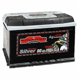 SZNAJDER 80 Ah Silver Japan Cars (+левый)
